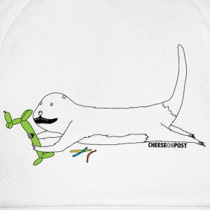 otter with balloons T-Shirts - Baseball Cap