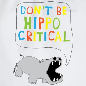 hippo T-Shirts - Drawstring Bag