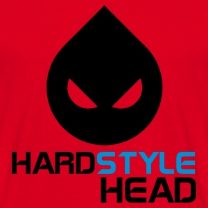 Red Hardstyle Head Jumpers  - Men's T-Shirt