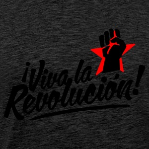 Brown revolution fist Jumpers - Men's Premium T-Shirt