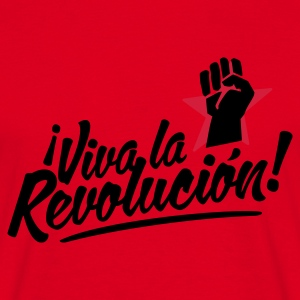 Red revolution fist Jumpers - Men's T-Shirt