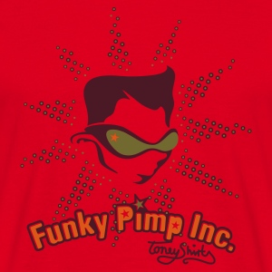 Rot THE FUNKY PIMP INC. by toneyshirts Pullover - Männer T-Shirt
