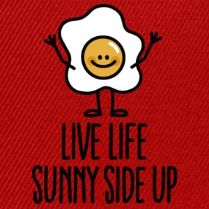 Live life sunny side up T-Shirts - Snapback Cap