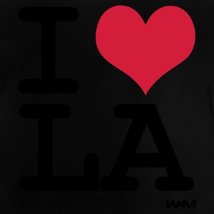 Schwarz i love la - los angeles by wam Kinder T-Shirts - Baby T-Shirt