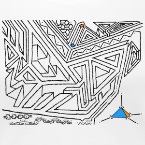 PowerLines 27 T-shirts - Premium-T-shirt dam
