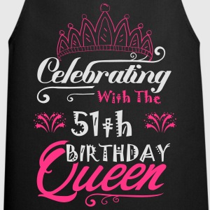 Celebrating With The 50th Birthday Queen T-Shirts - Cooking Apron