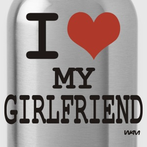 Nero i love my girlfriend by wam Pullover - Borraccia
