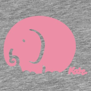 Rose elephant (c) Accessories - Men's Premium T-Shirt