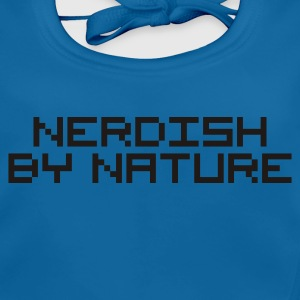 Navy nerdish by nature nerd pc Kinder T-Shirts - Baby Bio-Lätzchen