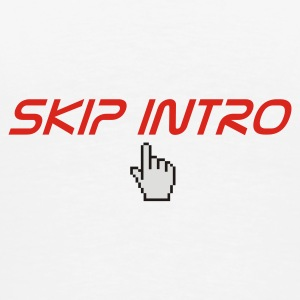skip intro - Premium T-skjorte for menn