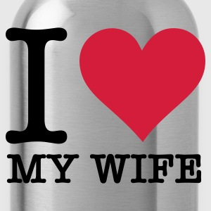 Nero I Love Wife (2c, NEU) T-shirt - Borraccia