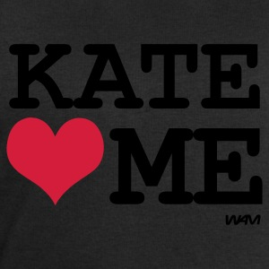 Noir/blanc kate loves me by wam T-shirts - Sweat-shirt Homme Stanley & Stella