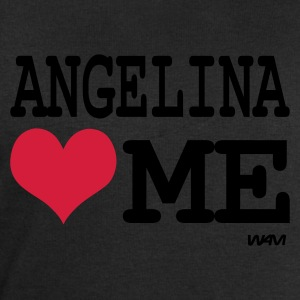 Noir/blanc angelina loves me by wam T-shirts - Sweat-shirt Homme Stanley & Stella