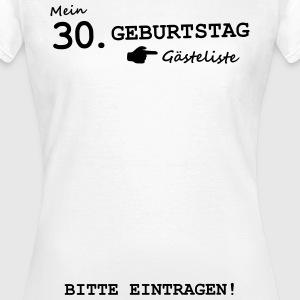 suchbegriff 39 30 geburtstag 39 t shirts online bestellen. Black Bedroom Furniture Sets. Home Design Ideas