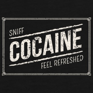 Sniff Cocaine - Feel Refreshed - Männer Premium T-Shirt