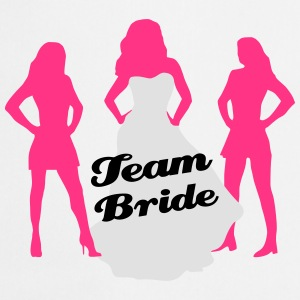 Team Bride, hen party, bachelorette party Koszulki - Fartuch kuchenny