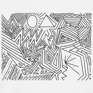 PowerLines 30 T-shirts - Premium-T-shirt herr