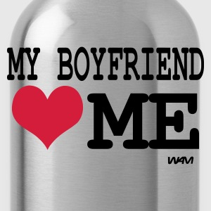 Zwart my boyfriendl loves me by wam Sweaters - Drinkfles