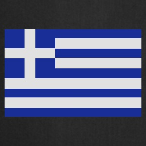 Black Greek Flag Bags  - Cooking Apron