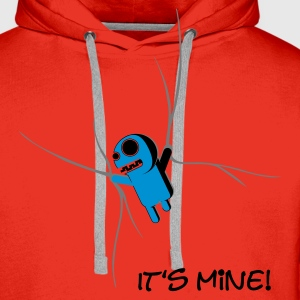 Rot it_is_mine T-Shirts - Männer Premium Hoodie