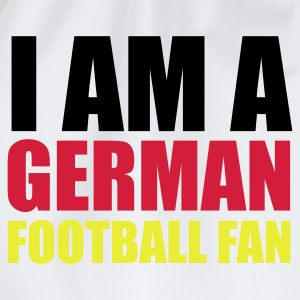 Weiß I am a german football fan © T-Shirts - Worek gimnastyczny
