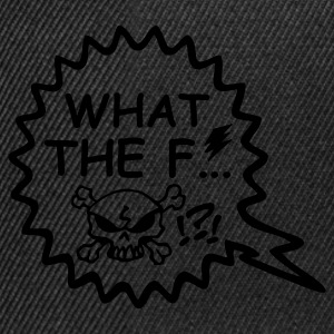 Schwarz What the fuck … © T-Shirts - Gorra Snapback
