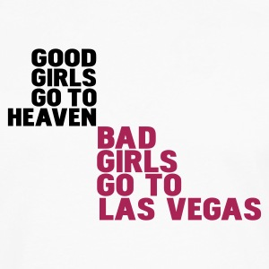 Blanco bad girls go to las vegas Camisetas - Camiseta de manga larga premium hombre