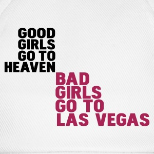 Wit bad girls go to las vegas T-shirts - Baseballcap