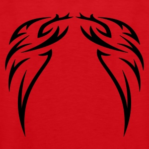 tattoo wings  - Herre Premium tanktop
