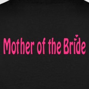 Black Mother of the Bride Jumpers  - Men's Premium T-Shirt