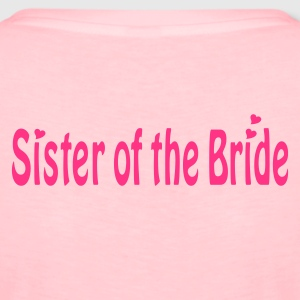 Hellrosa Sister of the Bride Pullover - Frauen Premium T-Shirt