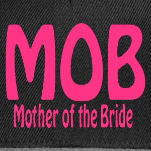 Black Mother of the Bride Jumpers  - Snapback Cap