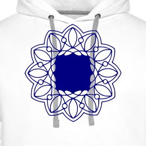 Indian mandala t-shirt - Men's Premium Hoodie