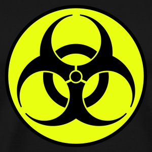Navy biohazard 2 color EN Kids' Tops - Men's Premium T-Shirt