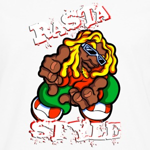 rasta style - T-shirt manches longues Premium Homme