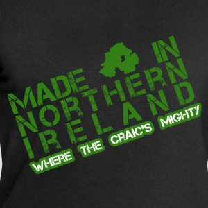 Black Made in Northern Ireland Men's T-Shirts - Men's Sweatshirt by Stanley & Stella