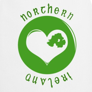 White northern_ireland_heart Bags  - Cooking Apron