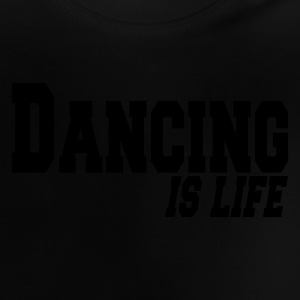 Negro dancing is life Camisetas niños - Camiseta bebé