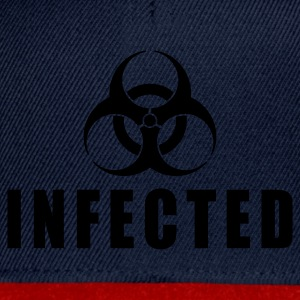 Blu pavone infected biohazard IT Borse - Snapback Cap
