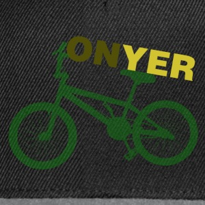 Black On Yer Bike Men's T-Shirts - Snapback Cap