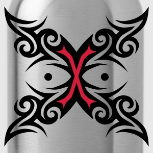 Schwarz Tattoo Tribal / Tatoo T-Shirts - Trinkflasche