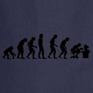 evolution T-shirt - Grembiule da cucina