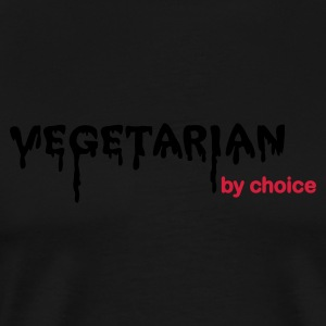 Vegetarian by Choice - Camiseta premium hombre