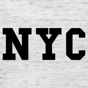 Heather grey nyc - new york city Jumpers  - Women's Tank Top by Bella