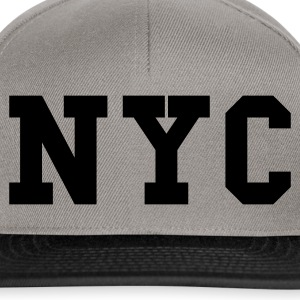 Heather grey nyc - new york city Jumpers  - Snapback Cap