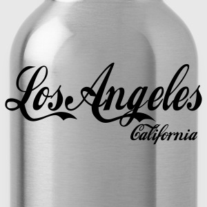 Heather grey los angeles california Jumpers - Water Bottle