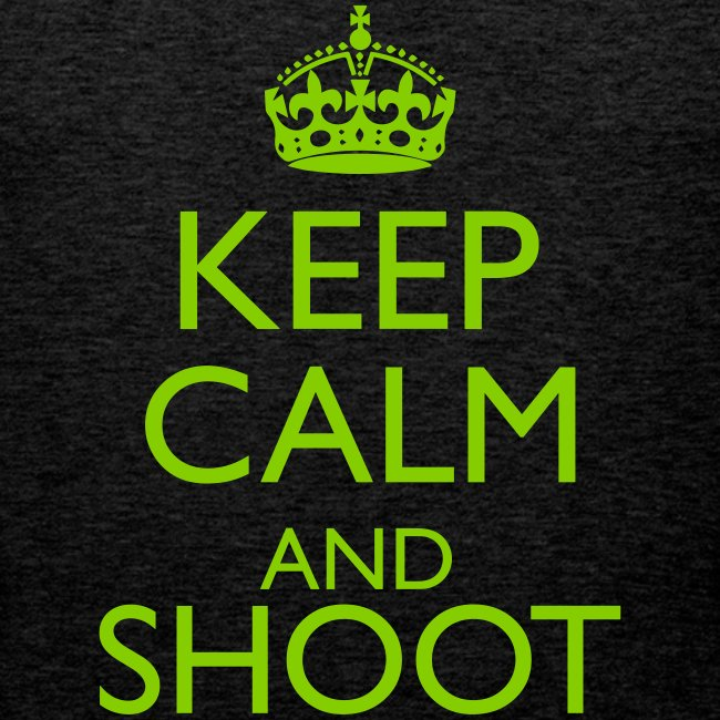 Keep Calm Hoodie beige