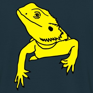 bearded dragon chilling Hoodies & Sweatshirts - Men's T-Shirt