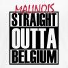 Straight Outta Belgium - Frauen Premium T-Shirt
