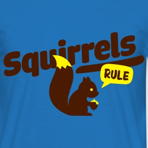 Army squirrels rule - eichhörnchen Sweatshirts - Herre-T-shirt